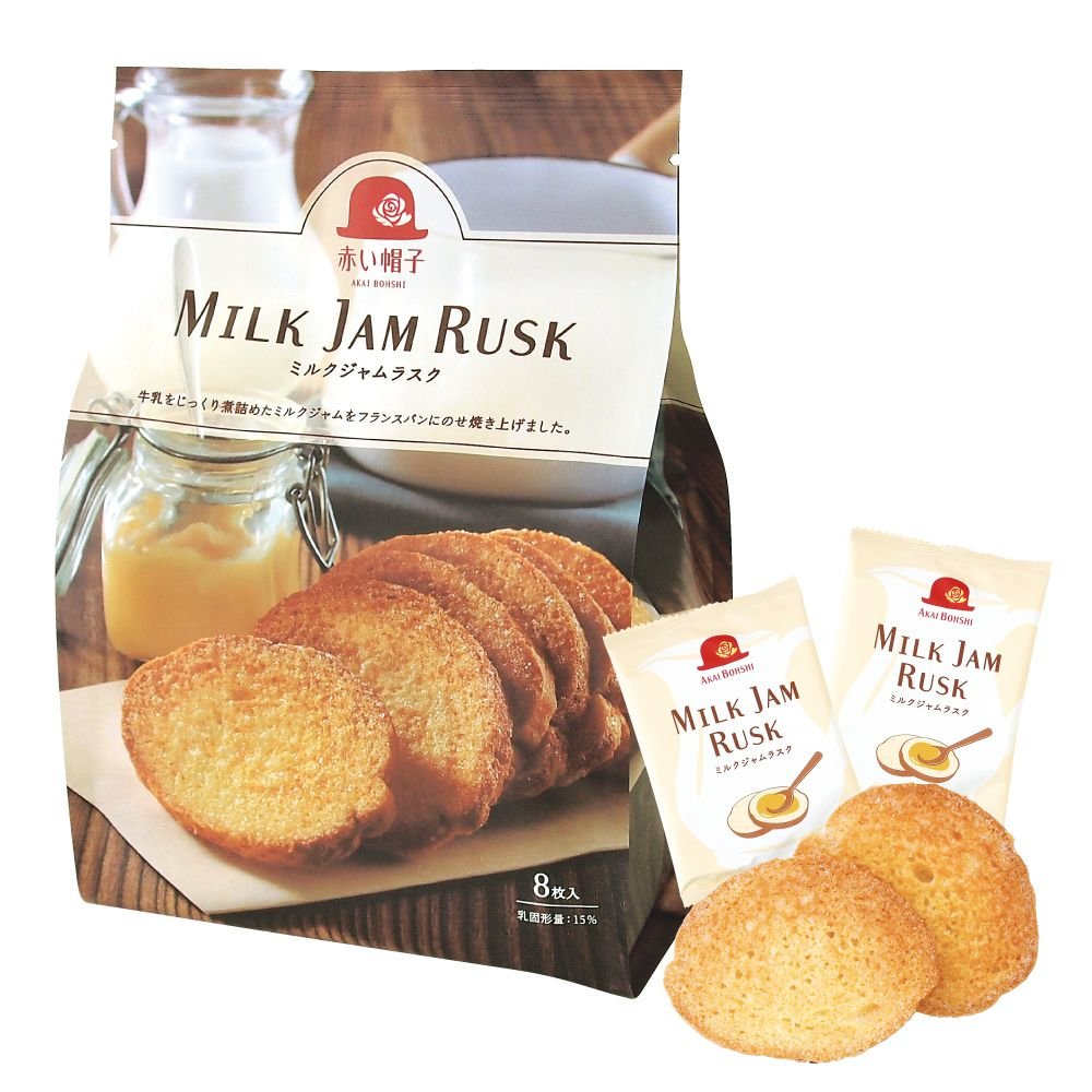 ミルクジャムラスク(ミルク)